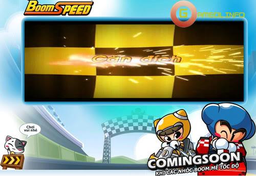 BoomSpeed đưa VTC Game trở lại đường đua 2