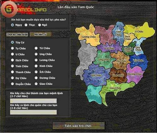 Công ty OneWorld xác nhận việc phát hành Webgame Phong Vân Tam Quốc 3