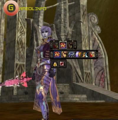 Shaiya cập nhật thanh Combo Skill và Quick Potion Slot 5