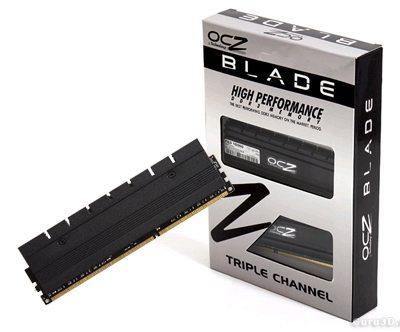 """RAM OCZ Blade DDR3 - Tốc độ """"nhanh như gió"""" 7"""