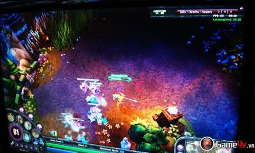 League of Legends lộ gameplay tại ChinaJoy 09