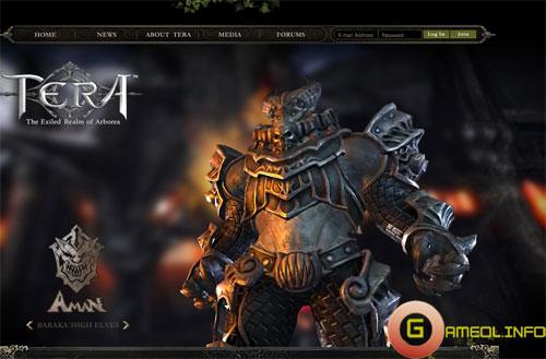 Tera Online bất ngờ xuất hiện trang chủ tiếng Anh 1