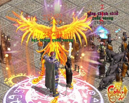 Chinh Đồ chính thức ra mắt chức năng Công Hoàng Thành 2