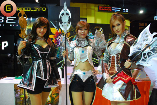 Rạng rỡ cosplay Rappelz Online 3