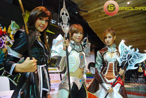 Rạng rỡ cosplay Rappelz Online 5
