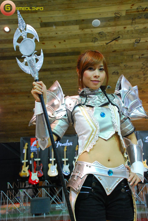 Rạng rỡ cosplay Rappelz Online 6