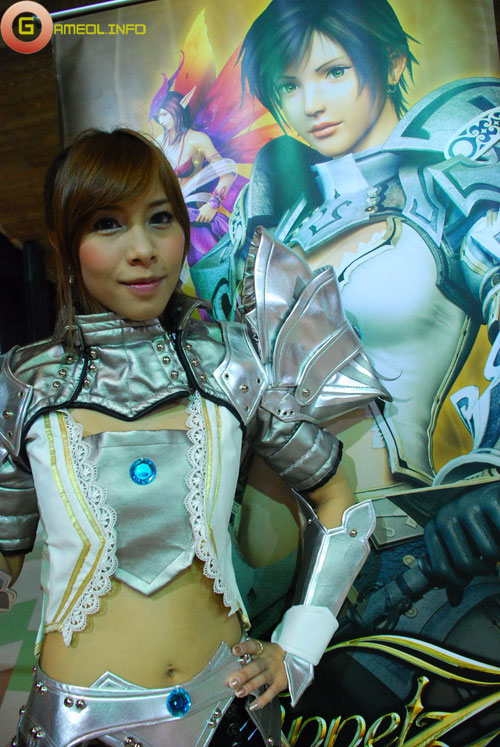 Rạng rỡ cosplay Rappelz Online 7