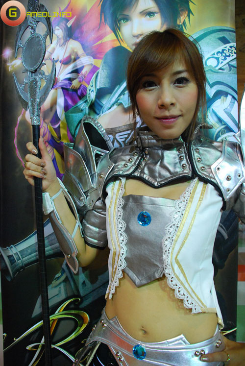 Rạng rỡ cosplay Rappelz Online 8