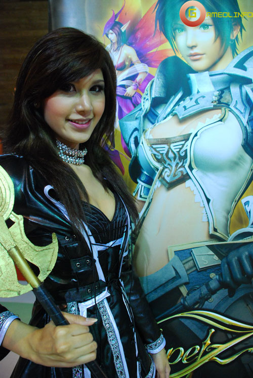 Rạng rỡ cosplay Rappelz Online 11