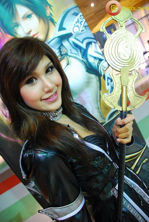 Rạng rỡ cosplay Rappelz Online 14
