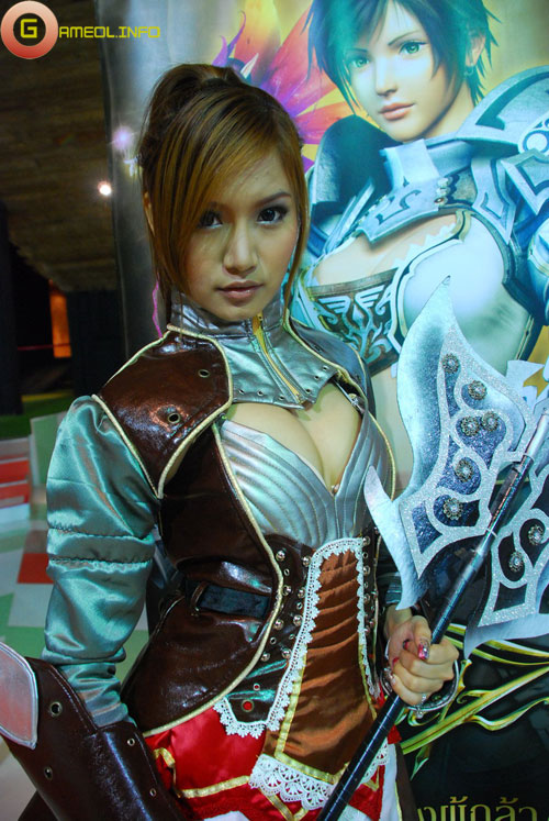 Rạng rỡ cosplay Rappelz Online 16