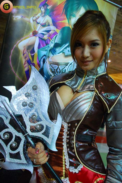 Rạng rỡ cosplay Rappelz Online 18