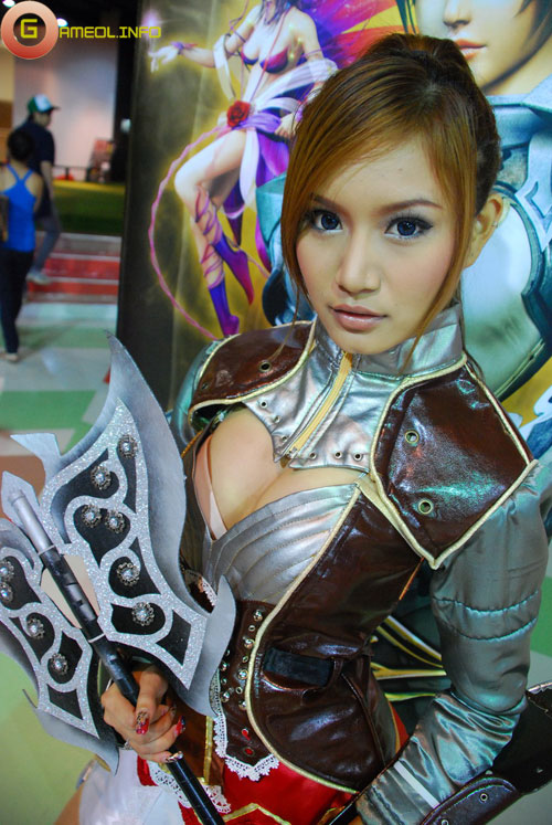 Rạng rỡ cosplay Rappelz Online 19