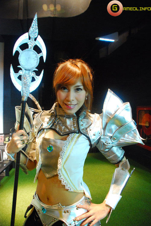 Rạng rỡ cosplay Rappelz Online 27