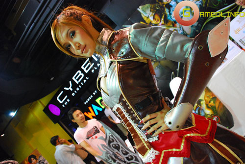 Rạng rỡ cosplay Rappelz Online 47