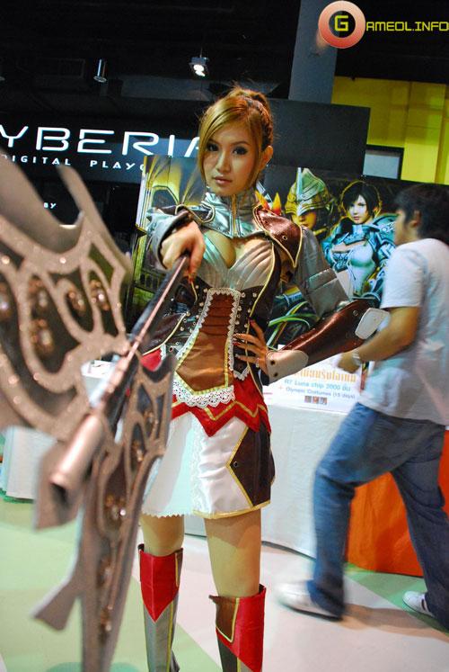 Rạng rỡ cosplay Rappelz Online 49