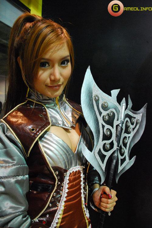 Rạng rỡ cosplay Rappelz Online 52