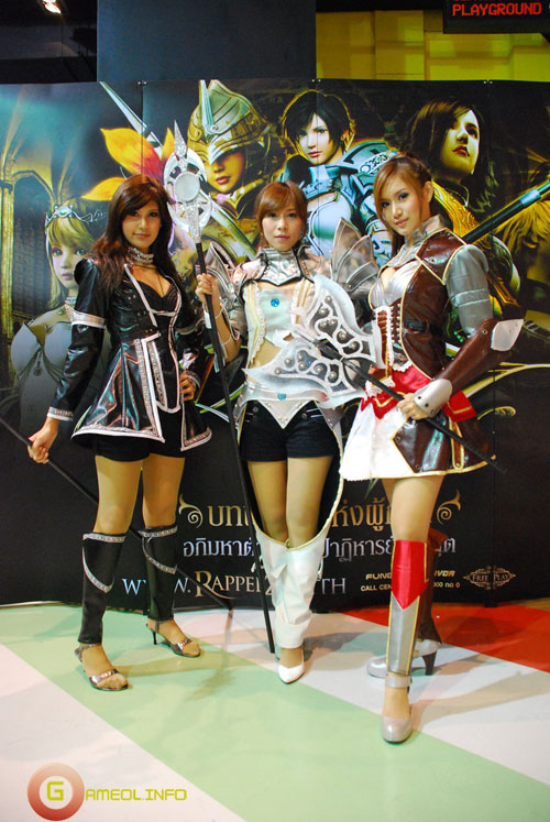Rạng rỡ cosplay Rappelz Online 56