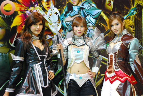 Rạng rỡ cosplay Rappelz Online 57
