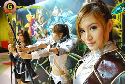 Rạng rỡ cosplay Rappelz Online 59