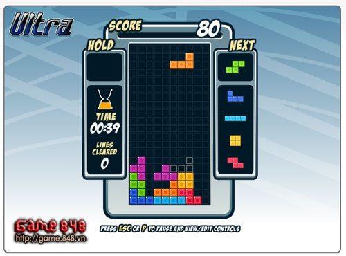 Tetris Friends Online: Xếp gạch trực tuyến, tại sao không? 3