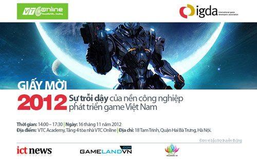 VTC Online tổ chức hội thảo phát triển game tại Hà Nội 1