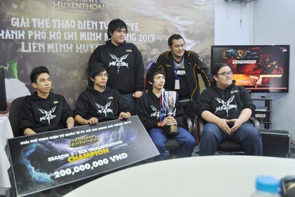 Mineski đăng quang tại giải vô địch Đông Nam Á mùa ba