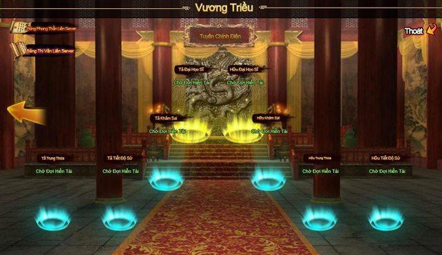 Hệ thống quan chức của Hùng Bá Thiên Hạ 5.0