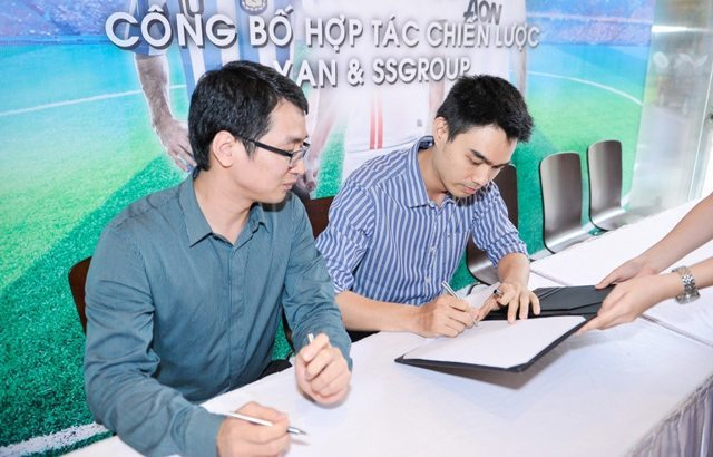 Đại diện YAN và SSGroup ký kết hợp tác chiến lược