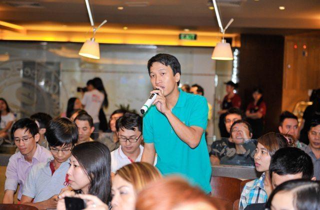 Rất nhiều câu hỏi được đặt ra cho đại diện SSGroup và YAN tại buổi họp báo