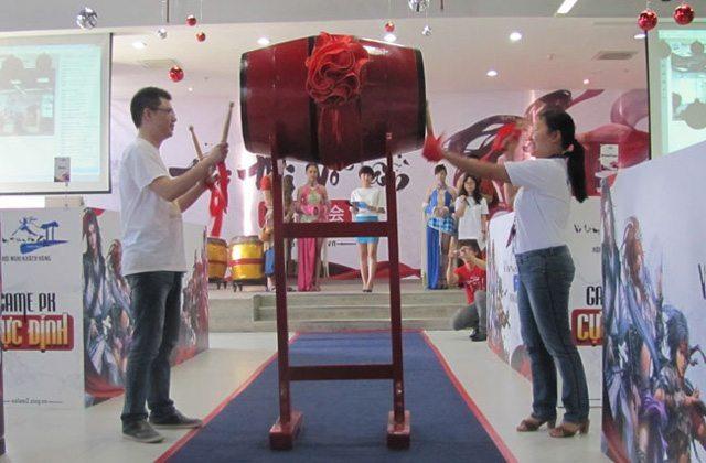 Đại diện VNG và Kingsoft làm lễ khai mạc Đại Hội Võ Lâm Truyền Kỳ II