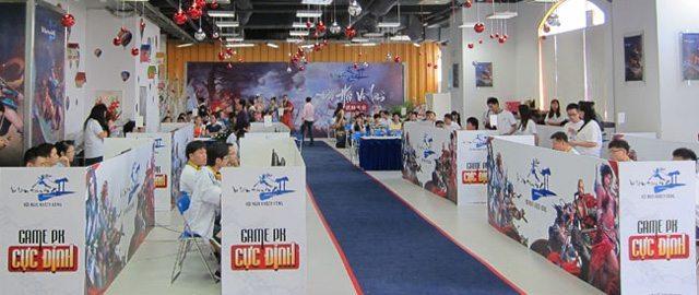 Khu vực thi đấu của Đại Hội Võ Lâm Truyền Kỳ II lần thứ hai