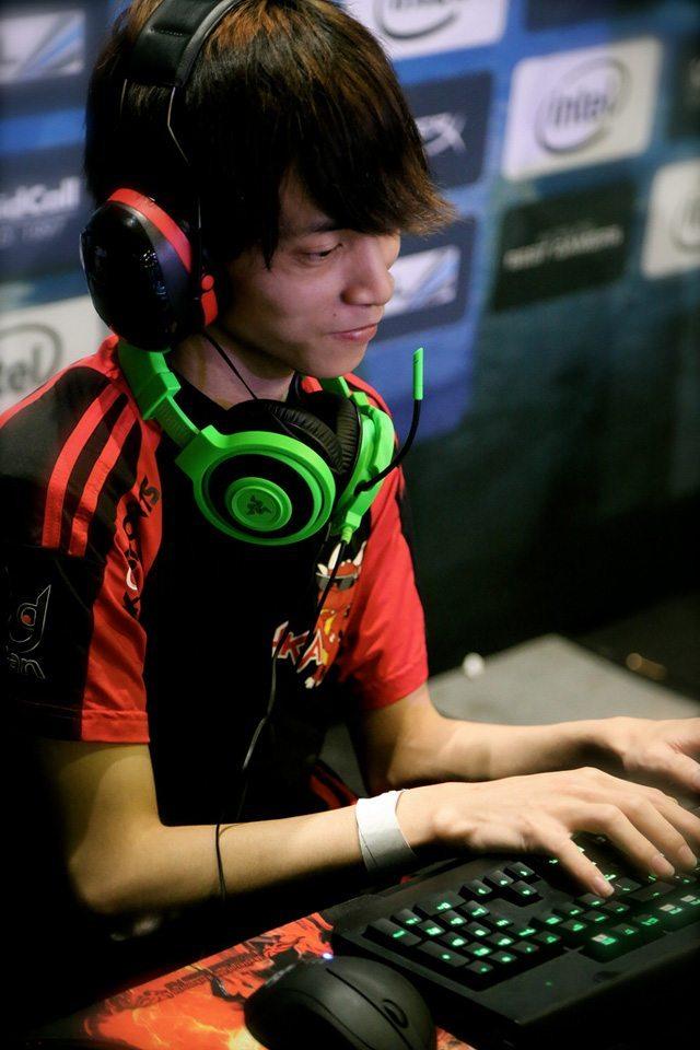 Một tuyển thủ của đội Hong Kong Attitude