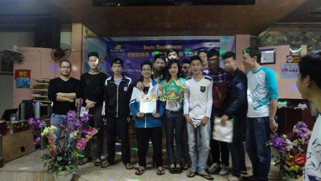 Đội No Name là nhà vô địch Stars Tournament tại Hải Dương