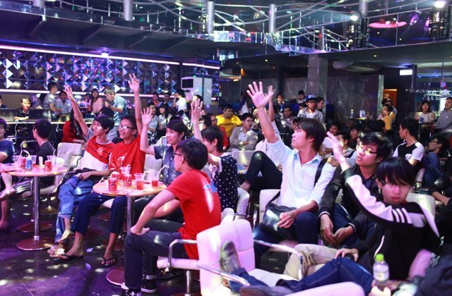 Rất đông người chơi đã đến xem vòng chung kết Stars Tournament tại TP.HCM