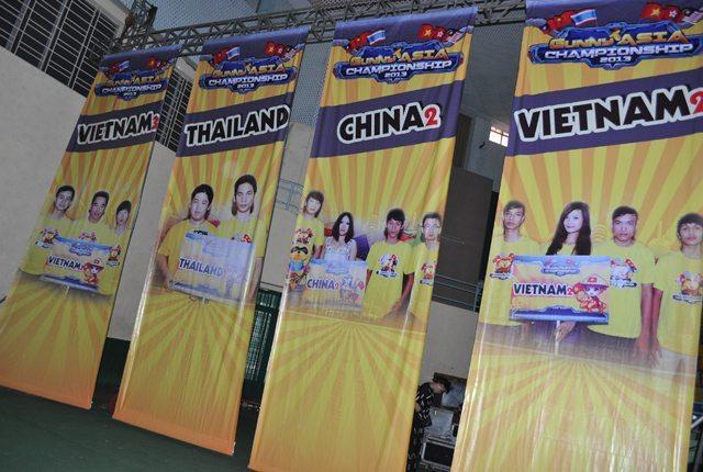 Hình ảnh các tuyển thủ tham gia thi đấu tại Gunny Asia Championship 2013