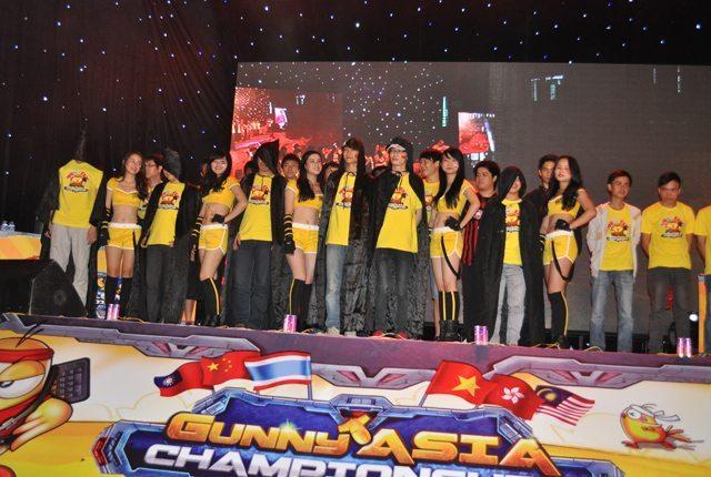 Các tuyển thủ tham gia thi đấu tại Gunny Asia Championship 2013