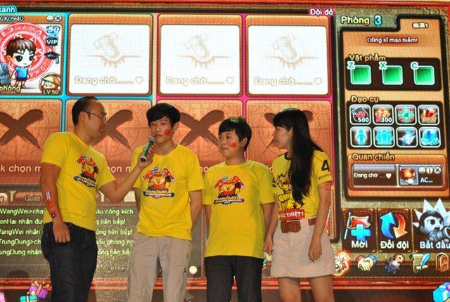 Phỏng vấn Wang Wei và Li Zhao sau khi kết thúc phần thi tổ đội
