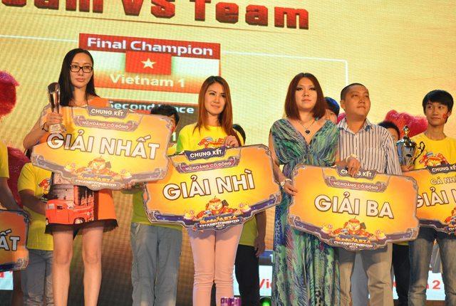 Ba nữ hoàng cổ động xuất sắc nhất Gunny Asia Championship 2013