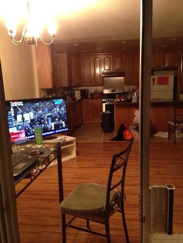 Một góc nhìn vào nhà bếp
