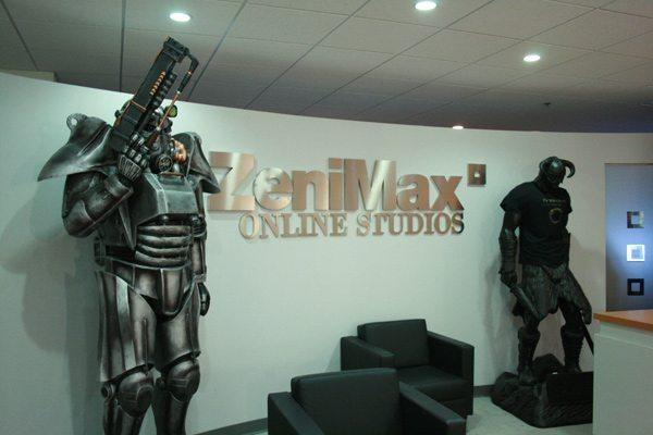 Khu vực tiếp khách của ZeniMax Online Studios