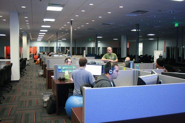 Một góc văn phòng ZeniMax Online Studios