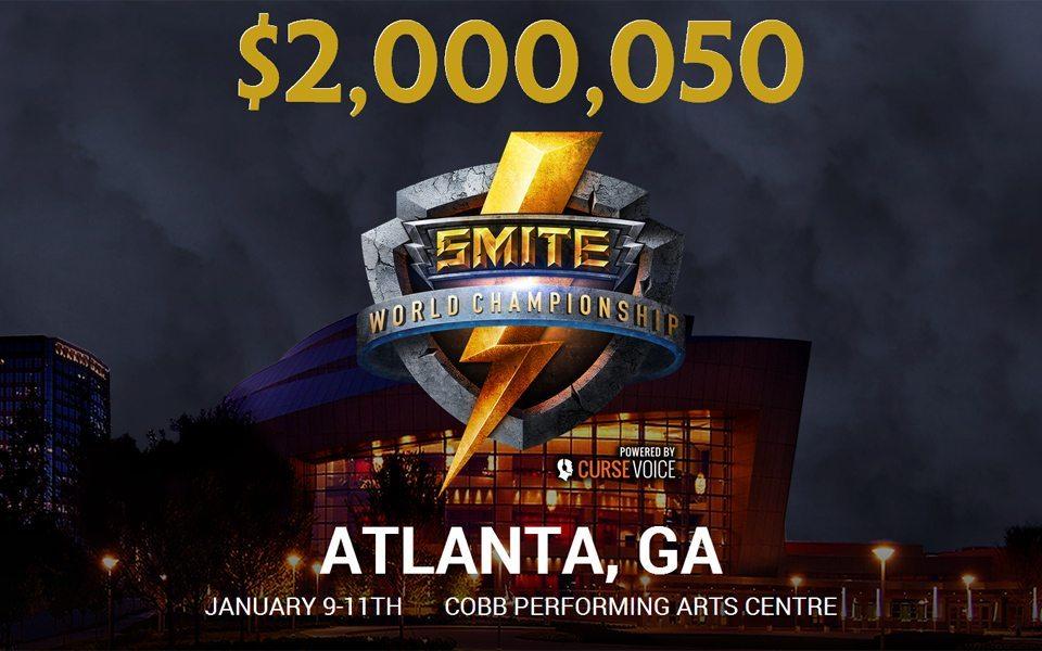 Giải thưởng của SMITE World Championship 2015 đã vượt mốc 2 triệu đô