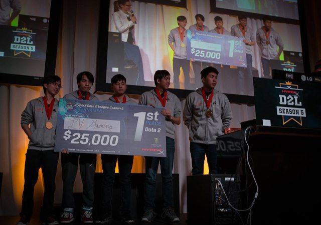 LV Gaming là nhà vô địch Dota 2 League Season 5