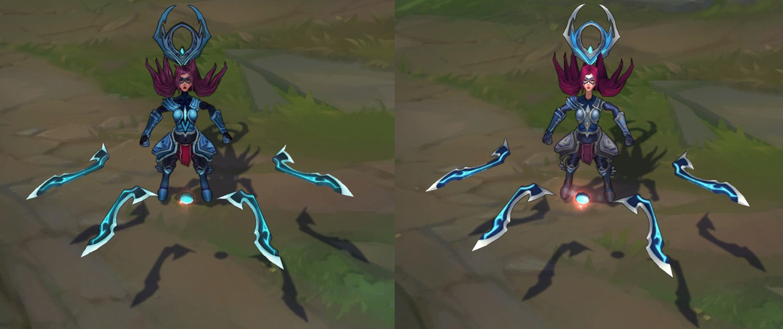 So sánh phiên bản cũ (trái) và phiên bản mới (phải)