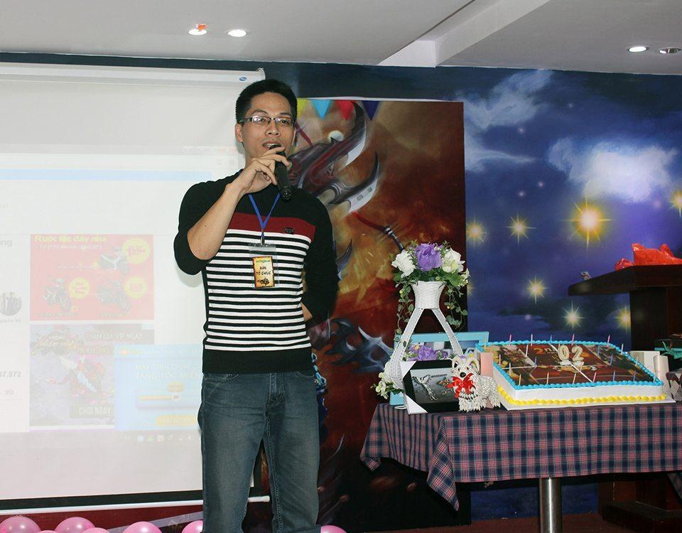 Đại diện Soha Game trả lời thắc mắc của người chơi và chia sẻ các dự định mới