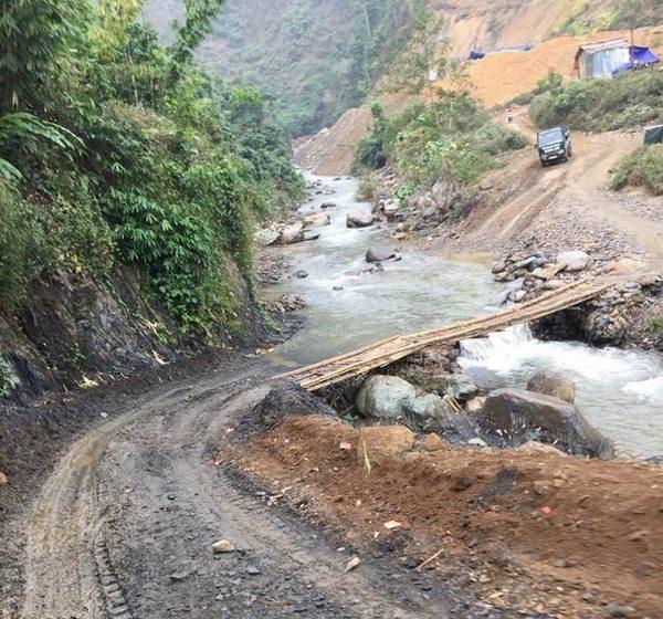 Địa hình hiểm trở khiến Nậm Pì trở thành xã nghèo của tỉnh Lai Châu