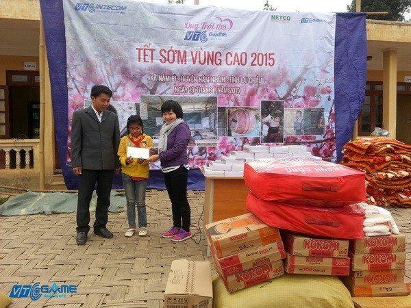 VTC Intecom đưa Tết sớm đến vùng cao tỉnh Lai Châu