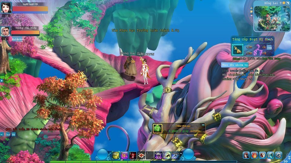 Giang Hồ Võ Hiệp có đồ họa 2D khá ấn tượng