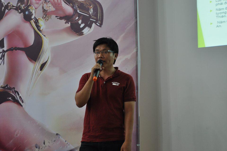 Đại diện VNG giới thiệu các tính năng nổi bật của Võ Hồn 2